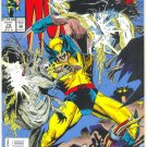 Wolverine #73 Sentinels From The Mound VF !