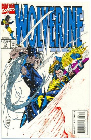 Wolverine #78 Deathstralk Kubert Art NM !