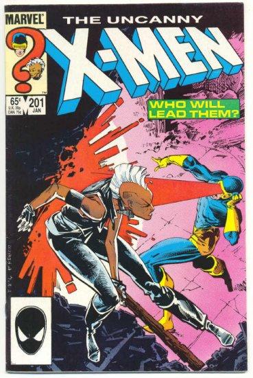 Uncanny X-Men #201 1st Baby Cable Key Issue 1986 VFNM !