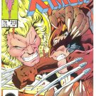 Uncanny X-Men #213 Wolverine & Sabretooth Throwdown !