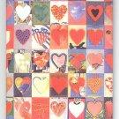 Giovanopulos Hearts fridge magnet