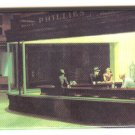 Edward Hopper fine art image on fridge magnet