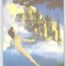 Maxfield Parrish fine art image on fridge magnet