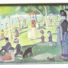 Seurat fine art image on fridge magnet
