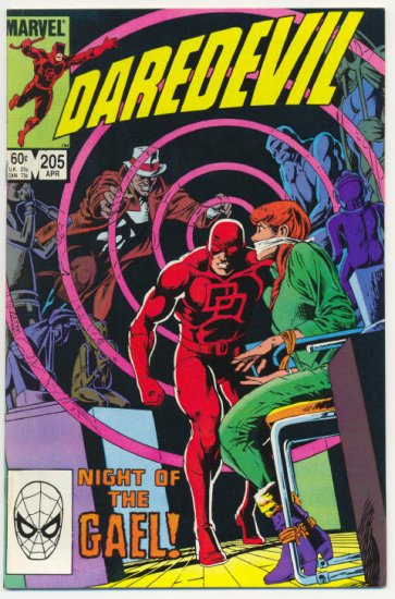 Daredevil #205 Night Of The Gael !