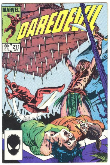 Daredevil #211 The Hungry God !