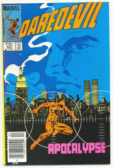 Daredevil #227 Apocalypse Born Again series !