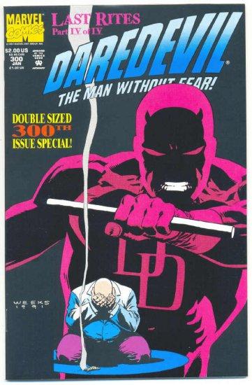 Daredevil #300 Giant-Size Anniversary Issue Last Rites!