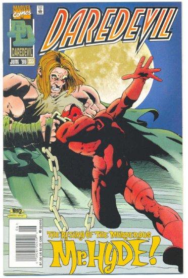 Daredevil #353 The Return Of Mr. Hyde !
