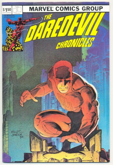 The Daredevil Chronicles 1982 Miller Special