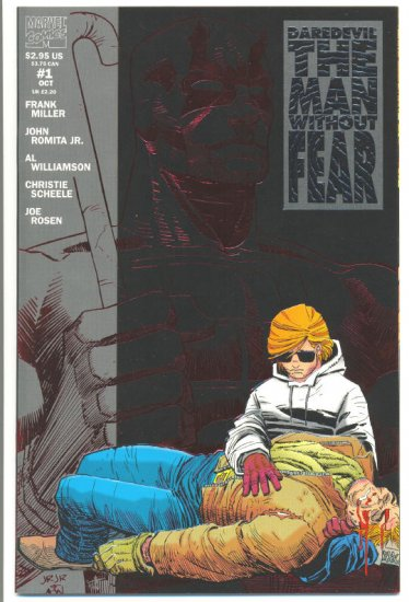 Daredevil The Man Without Fear #1 Miller JR Jr NM !