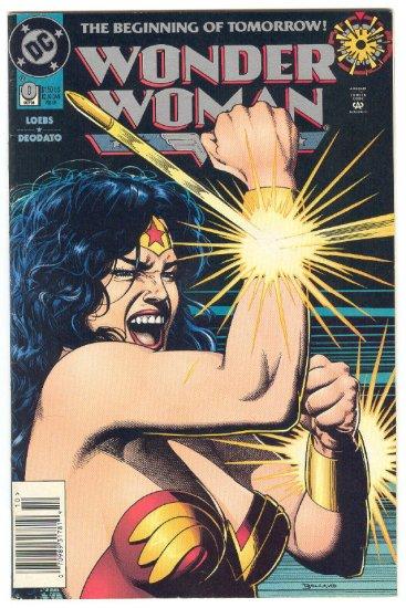 Wonder Woman #0 The Contest Deodato Art Classic !