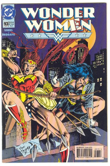 Wonder Woman #93 The New Wonder Woman Deodato Art Classic !