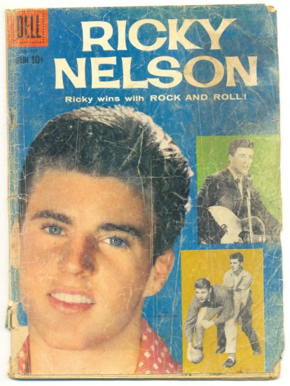 Four Color Comics #956 Ricky Nelson HTF 1958 Book