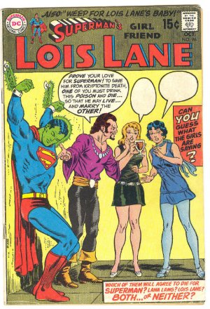 Superman's Girlfriend Lois Lane #96 1969 !