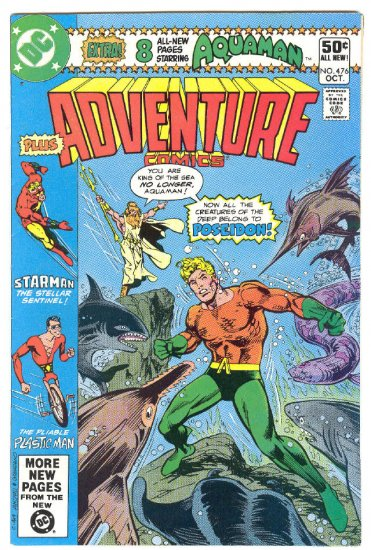 Adventure Comics #476 Ditko Art 1980 !
