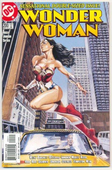 Wonder Woman #200 Double-Size JG Jones Art VFNM Classic