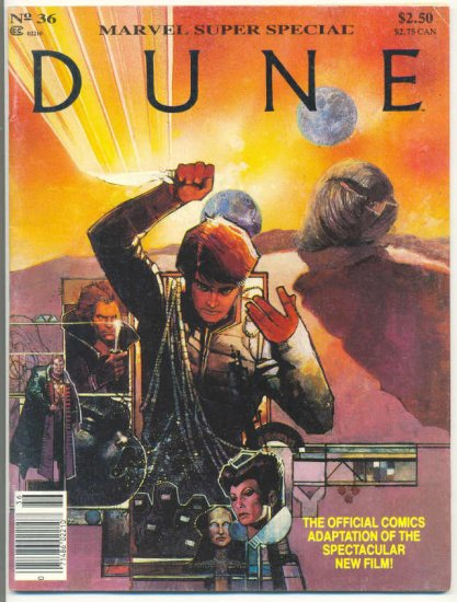 Marvel Super Special #36 Dune Sienkiewicz Art HTF !
