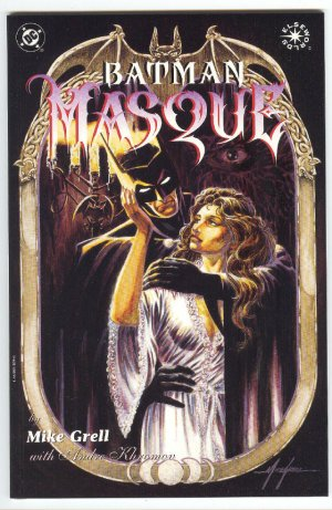 Batman Masque Graphic Novel Mike Grell Story/Art
