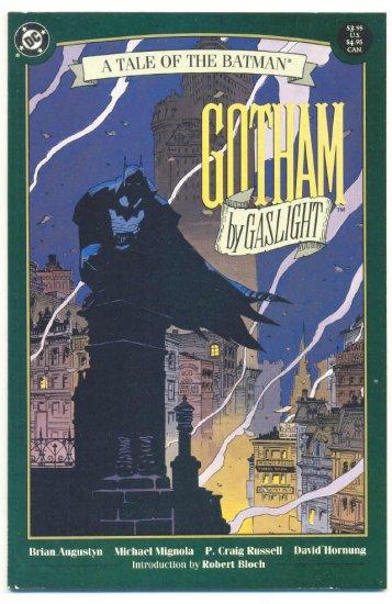 Batman Gotham By Gaslight Graphic Novel Mignola Art !