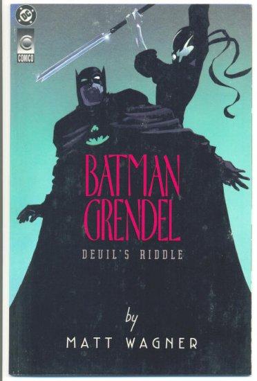 Batman Grendel Devil's Masque Devil's Riddle Graphic Novel Set