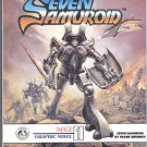 Frank Brunner's Seven Samuroid Very HTF Graphic Novel VFNM