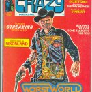 Crazy #5 Nixon West World Freas Art HTF 1974 Humor Mag!