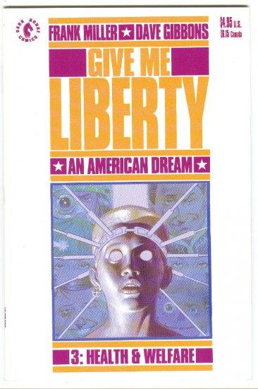 Give Me Liberty #3 Frank Miller Dave Gibbons Dark Horse 2000