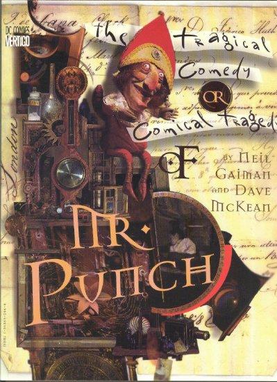 Mr. Punch Tragical Comedy Graphic Novel Gaiman & McKean
