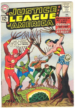 Justice League Of America #9 HTF Origin Issue HTF 1962 !