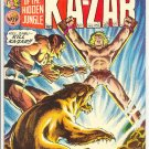 Ka-Zar #4 Into The Shadow Of Death Brunner Art 1974 !