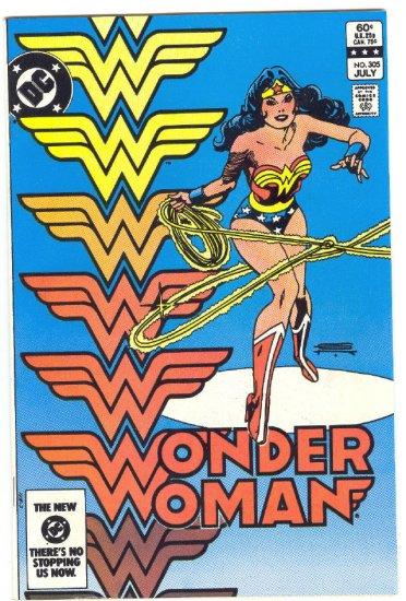 Wonder Woman #305 Day Of The Man Beast 1983 Colan Art !