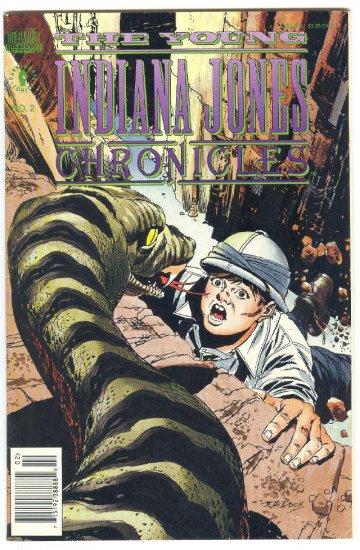 Young Indiana Jones Chronicles #2 Dark Horse 1992