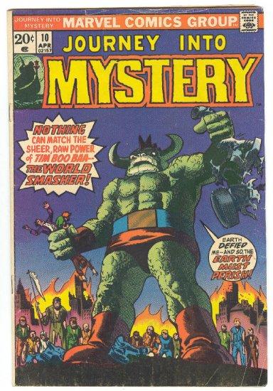 Journey Into Mystery #10 V2 1974 Horror Classic !