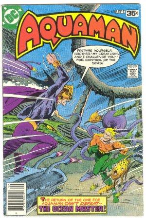Aquaman #63 HTF Last Issue 1978 Newton Art !