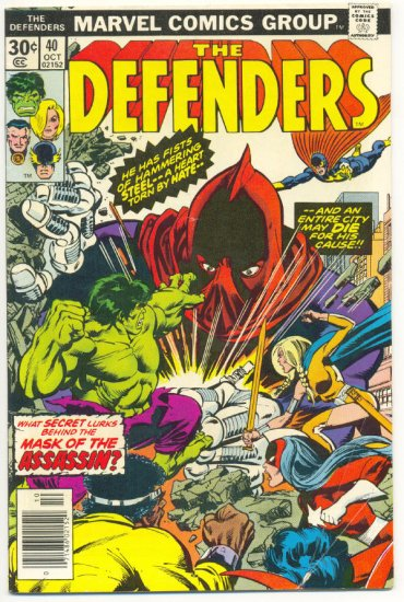 Defenders #40 The Mask Of The Assassin !