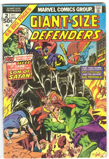 Giant-Size Defenders #2 Hulk, Hell And Holocaust !