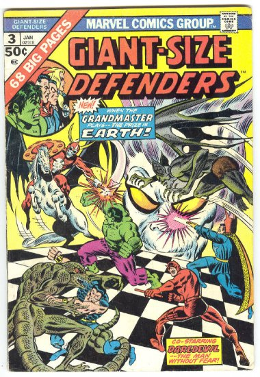 Giant-Size Defenders #3 The Grandmaster Came To Play !