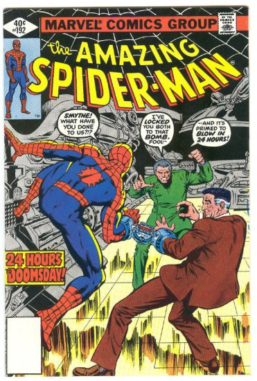 Amazing Spider-Man #192 24 Hours To Doomsday Whitman Variant 1979 !