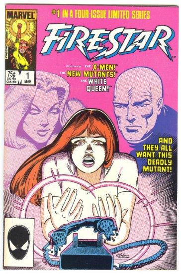 Firestar #1 Origin & The White Queen !