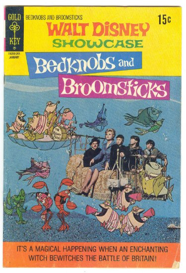 Walt Disney Showcase #6 Bedknobs And Broomsticks Photocover !