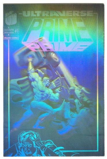 Prime #1 Holographic cover edition HTF Promo book