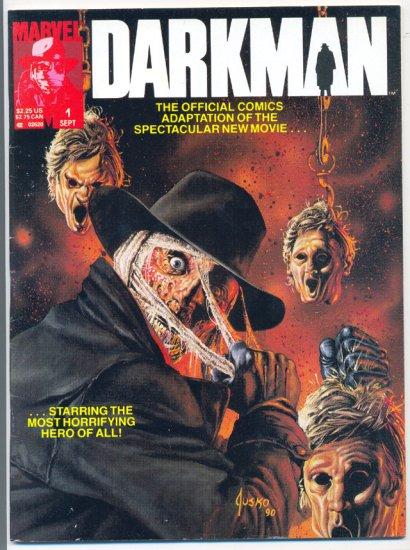 Darkman Magazine B&W Movie Adaptation 1990