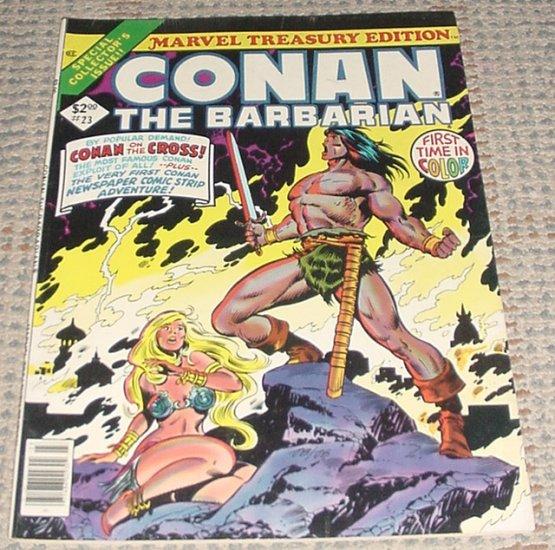 Marvel Treasury Edition #23 Conan The Barbarian HTF 1979 Giant