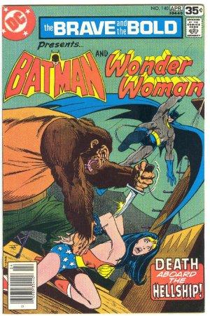 Brave And The Bold #140 Batman & Wonder Woman Aparo art