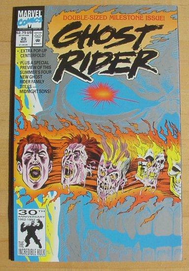 Ghost Rider #25 The Menace Called Malice Kane Art