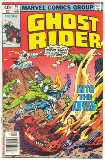 Ghost Rider #38 The Cult Of Doom Perlin art