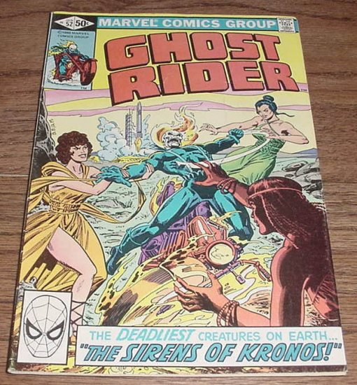 Ghost Rider #52 The Sirens Of Kronos