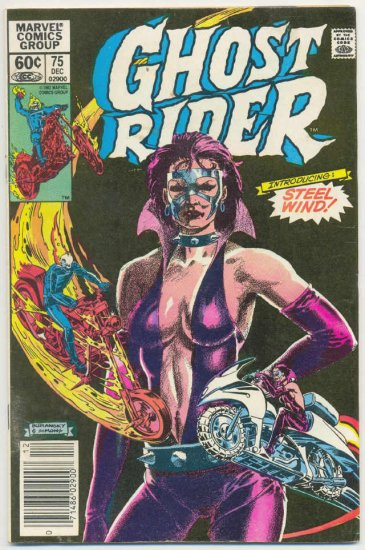 Ghost Rider #75 Introducing Steel Wind 1982