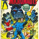 Micronauts #1 Cockrum/Golden Art 1978
